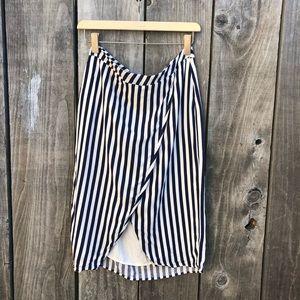 Nordstrom | Leith | Stripe Skirt